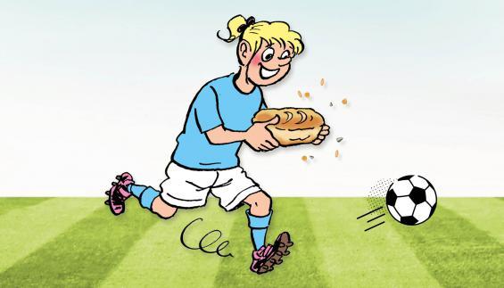 F.C. De Kampioenen bevat 7 granen en zaden